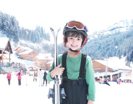 enfant-ski