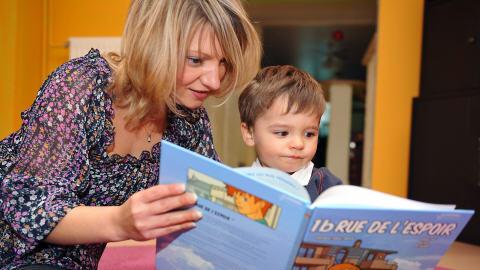lecture enfant maison