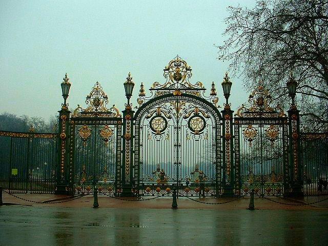 Entrée principale du Parc de la Tête d'Or