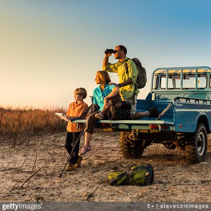 voyage aventure en famille
