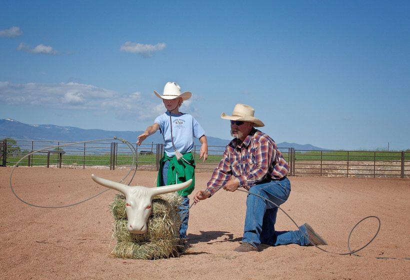 Voyage en famille dans un vrai ranch américain avec des enfants