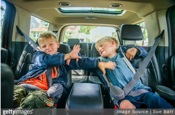 Des occupatiosn pour éviter les disputes en voiture