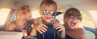 Départ en vacances pensez à aoccuper les trajets en voiture !