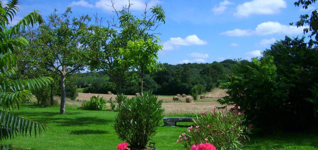 Jardin fleuri en Vendée